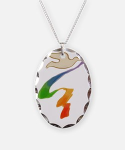 rainbow-wedding-dove_bl Necklace