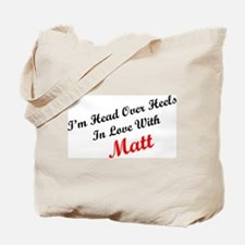 In Love with Matt Tote Bag