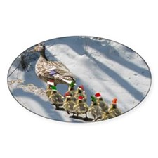holiday ducks Decal