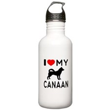 I Love My Canaan Water Bottle