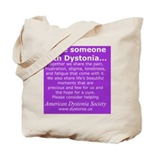 DystoniaTShirt7 Tote Bag