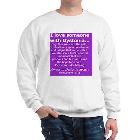 DystoniaTShirt7 Sweatshirt