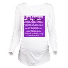 DystoniaTShirt7 Long Sleeve Maternity T-Shirt