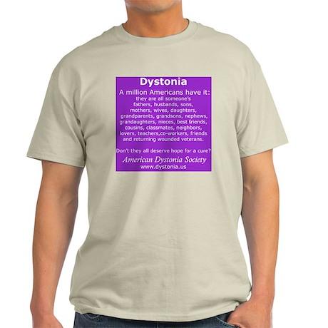 DystoniaTShirt6 Light T-Shirt