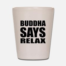 buddha copy Shot Glass