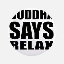 "buddha copy 3.5"" Button"
