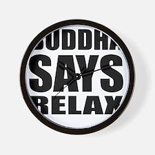 buddha copy Wall Clock