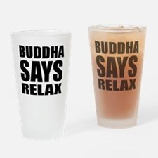 buddha copy Drinking Glass
