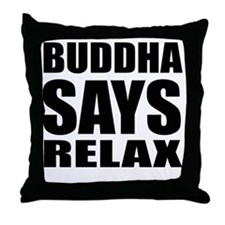 buddha copy Throw Pillow