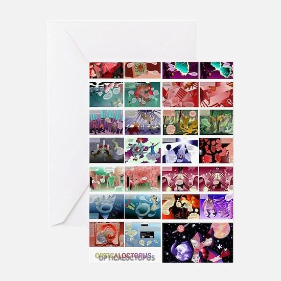OpticalOctopus Poster Greeting Card