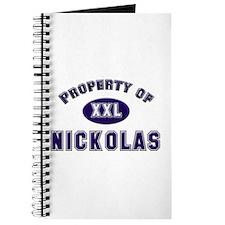 Property of nickolas Journal