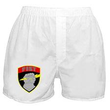 Cute Combat medical badge Boxer Shorts