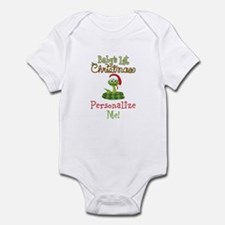 Custom 1st Christmas Infant Bodysuit