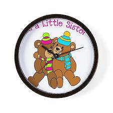 Bear Lil Sis Wall Clock