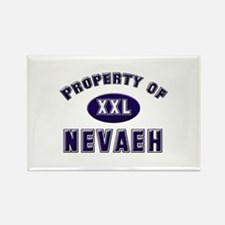 Property of nevaeh Rectangle Magnet