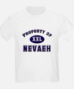 Property of nevaeh Kids T-Shirt