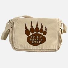 000-Its-a-Bears-Life-Logo Messenger Bag