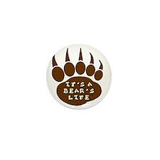 000-Its-a-Bears-Life-Logo Mini Button