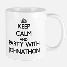 Keep Calm and Party with Johnathon Mugs