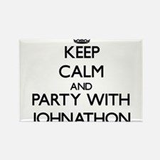 Keep Calm and Party with Johnathon Magnets