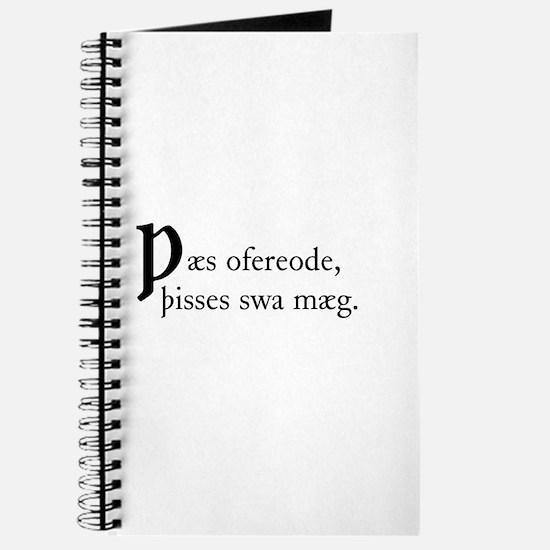 Thaes Ofereode Journal