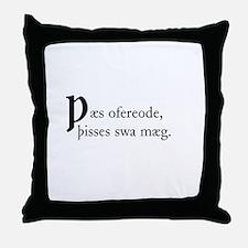 Thaes Ofereode Throw Pillow