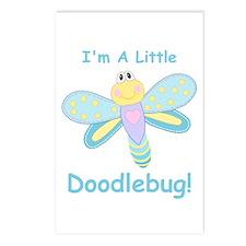 Doodlebug! Postcards (Package of 8)