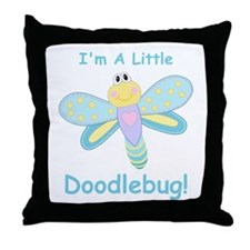 Doodlebug! Throw Pillow