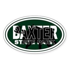 Baxter Oval Decal