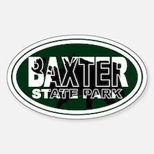 Baxter Oval Sticker (Oval)