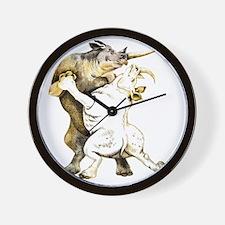 tango-rhino Wall Clock