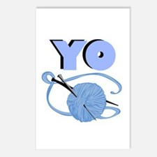 YO - Stitch Postcards (Package of 8)