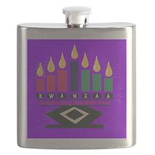 Kwanzaa Flask