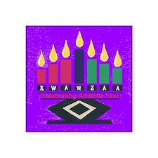 """Kwanzaa Square Sticker 3"""" x 3"""""""