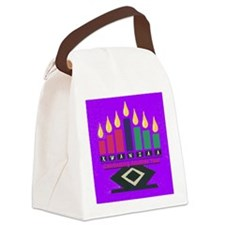 Kwanzaa Canvas Lunch Bag