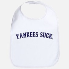 Yankees Suck! Baby Bib