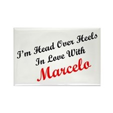 In Love with Marcelo Rectangle Magnet