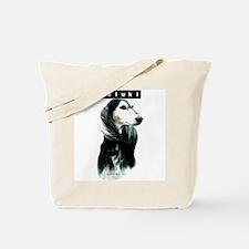 Saluki Head Tote Bag