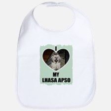 I LOVE MY LHASA APSO Bib
