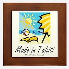 made-in-tahiti Framed Tile