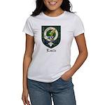 Leslie Clan Crest Tartan Women's T-Shirt
