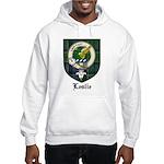 Leslie Clan Crest Tartan Hooded Sweatshirt