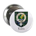 Leslie Clan Crest Tartan 2.25