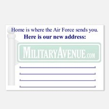 Air Force: Address Change Postcard