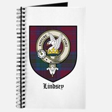 Lindsey Clan Crest Tartan Journal