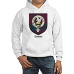 Lindsey Clan Crest Tartan Hooded Sweatshirt