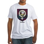 Lindsey Clan Crest Tartan Fitted T-Shirt