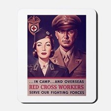 Red Cross Workers Mousepad