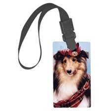 441_iphoneSheltie Luggage Tag