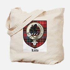 Little Clan Crest Tartan Tote Bag